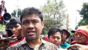 Presiden Konfederasi Serikat Pekerja Indonesia (KSPI) Said Iqbal: Kok Subsidi Rakyat Dicabut, Buruh Kembali Desak Batalkan Kenaikan Iuran BPJS Kesehatan.
