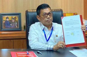 Jaksa Agung Muda Pidana Umum (Jampidum) Kejaksaan Agung, Dr Sunarta: Persidangan Perkara Pidana Online Tidak Mengurangi Prinsip Keadilan.