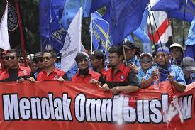 Keluar Dari Tim RUU Cipta Kerja, Buruh Persiapkan Aksi Besar-Sesaran Tolak Omnibus Law. (Net)
