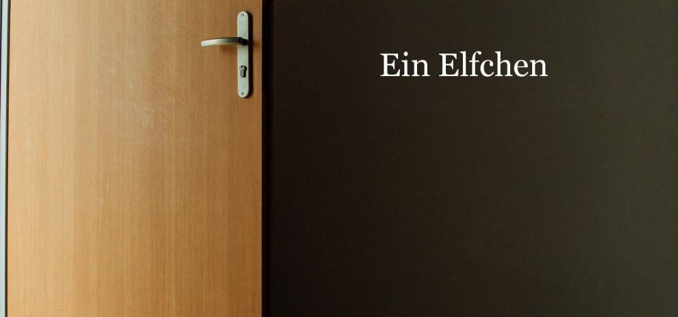 Die Tür – ein Elfchen