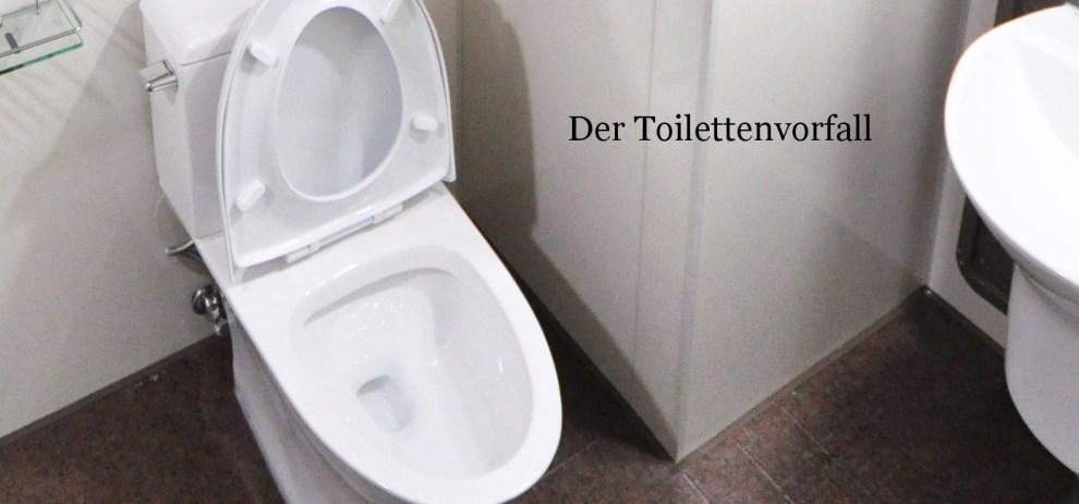Der Toilettenvorfall – Eine Ode