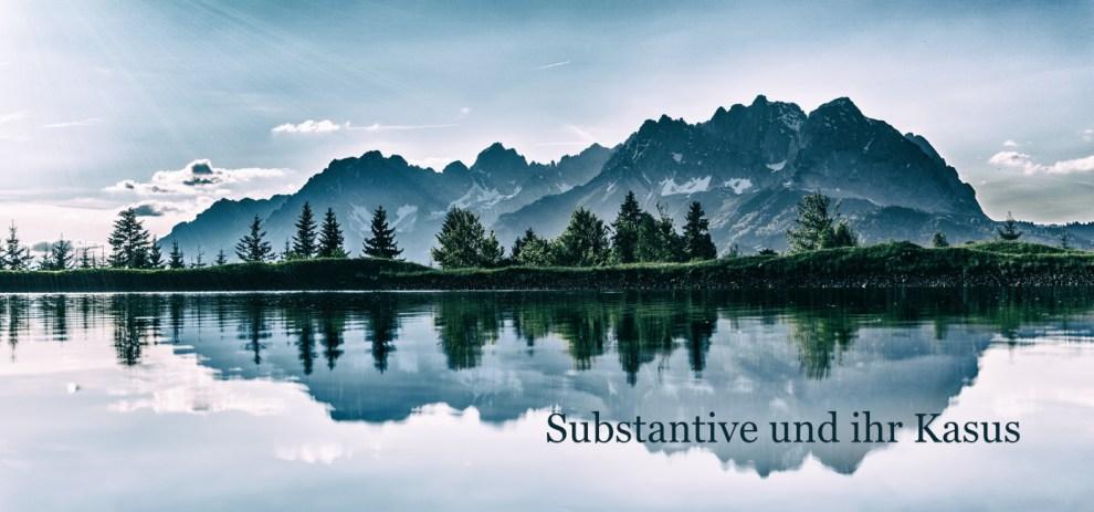 Substantive und ihr Kasus