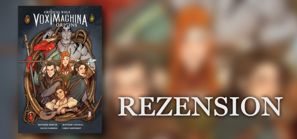 Rezension – Vox Machina Origins [Band 1]