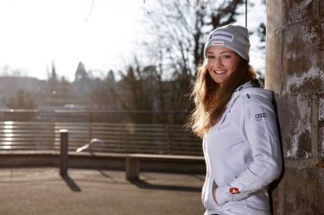 Snowboardcrosserin Sina Siegenthaler