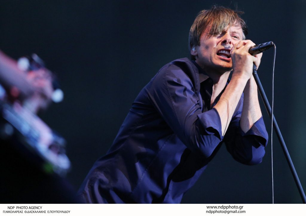 Suede: Photo by Thomas Daskalakis