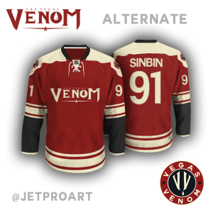 Las Vegas Venom Alternate