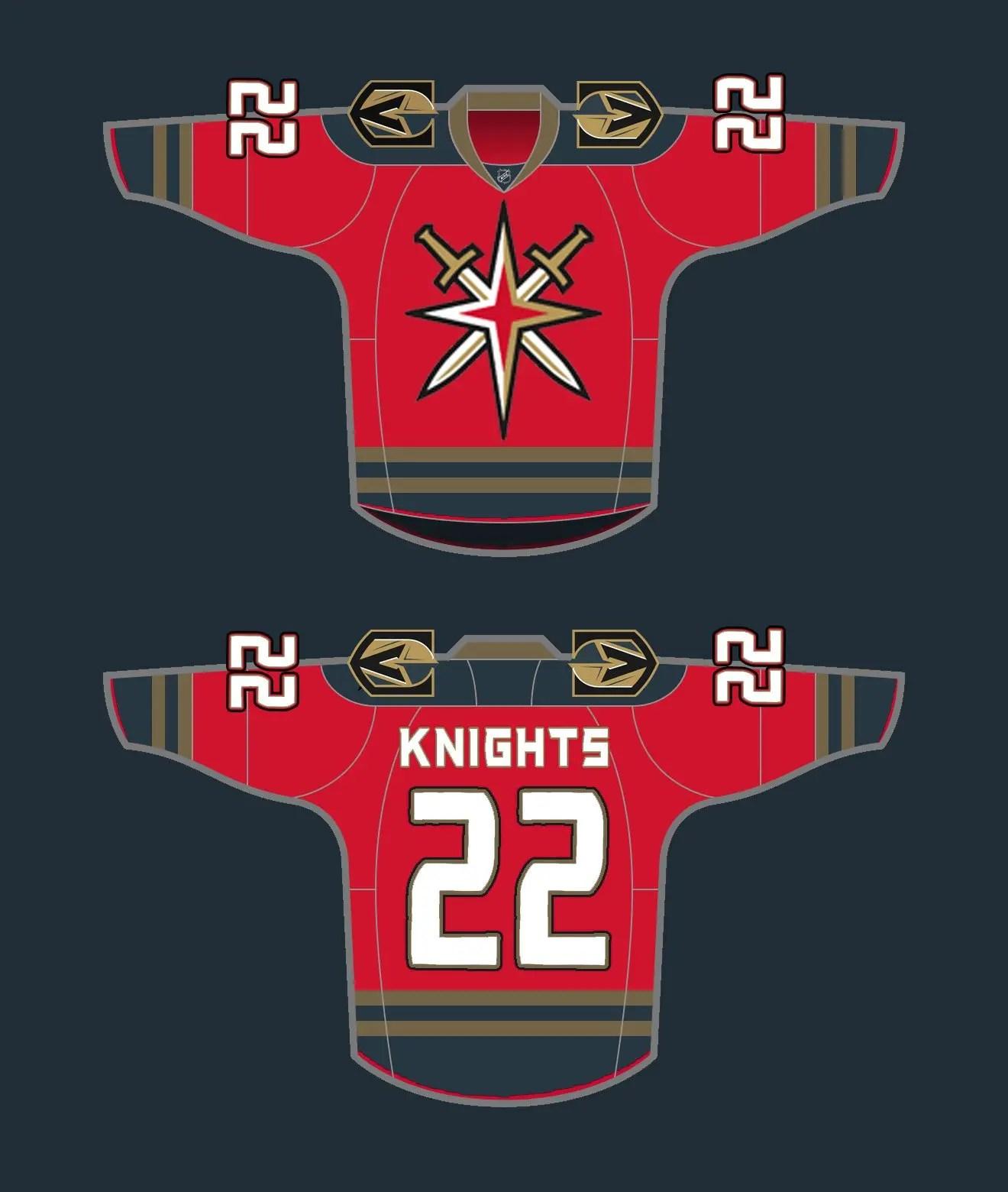 Vegas Golden Knights Jersey Concepts - SinBin.vegas