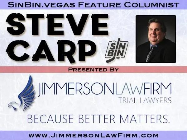 Steve Carp Joins SinBin.vegas - SinBin.vegas