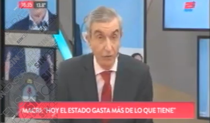 @NelsonAlCastro DESACATADO DESTROZÓ A @mauriciomacri EN @TodoNoticias