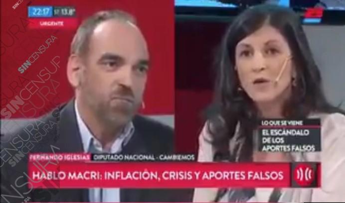 @fvallejoss LE HIZO PELO, BARBA, Y TIRA DE COLA A @feriglesias EN @TodoNoticias