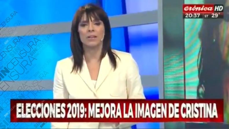@CFKArgentina NO PARA DE SUBIR INCLUSO EN LAS ENCUESTAS DEL GOBIERNO