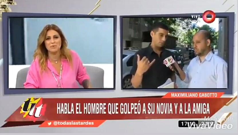 [VIDEO] MAJU LOZANO SACÓ DEL AIRE EL MÓVIL CON UN GOLPEADOR