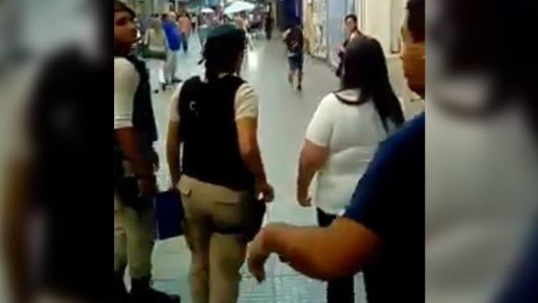 [VIDEO] SANTA FE: DETIENEN A UN CHICO POR CORRER EN LA CALLE