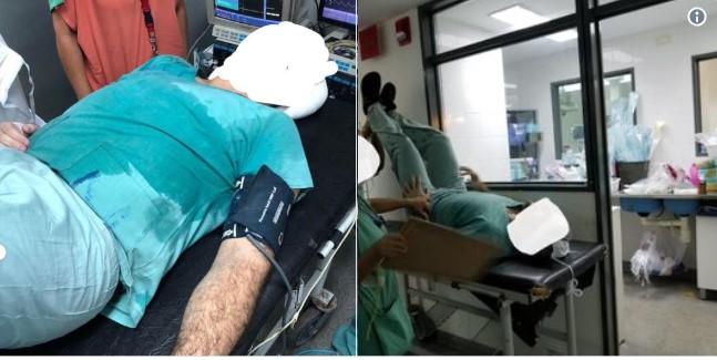 Resultado de imagen para medico desmayó cirugia