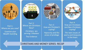 Visual Recap of Post 1 to Post 4 of the Christian and Wealth Series