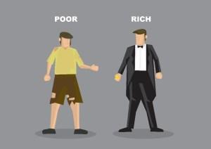 Life Scenarios Poor >>> Rich