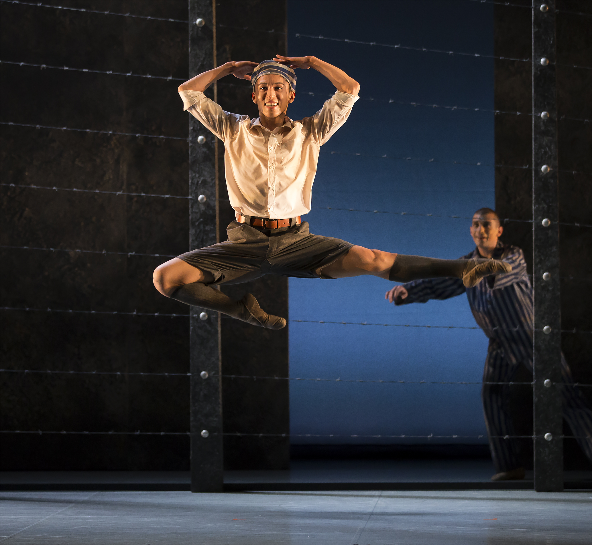 review the boy in the striped pyjamas northern ballet  the choreography is rich texture as it illuminates the two young boys and their stark differences kevin poeung as bruno is playful and his happiness