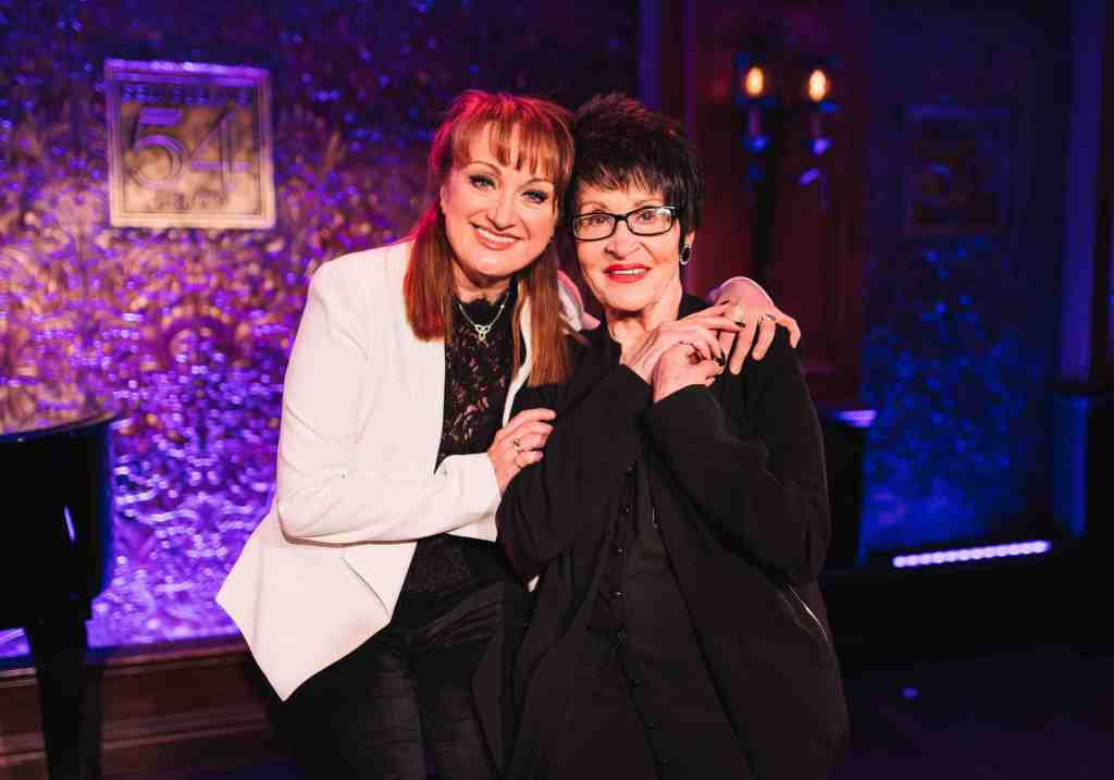 Caroline O'Connor & Chita Rivera, credit Emilio Madrid-Kuser