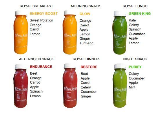 Royal Juice One Day detox program topknotch blog