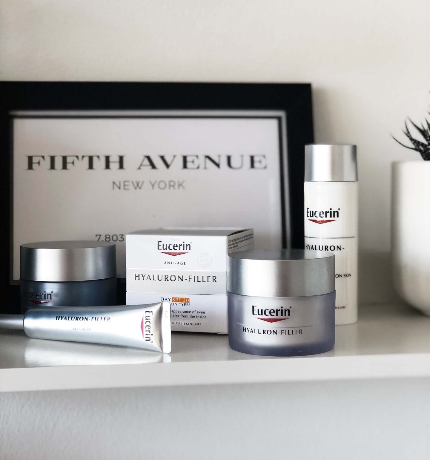 Eucerin Hyaluron-Filler anti aging range topknotch cape town
