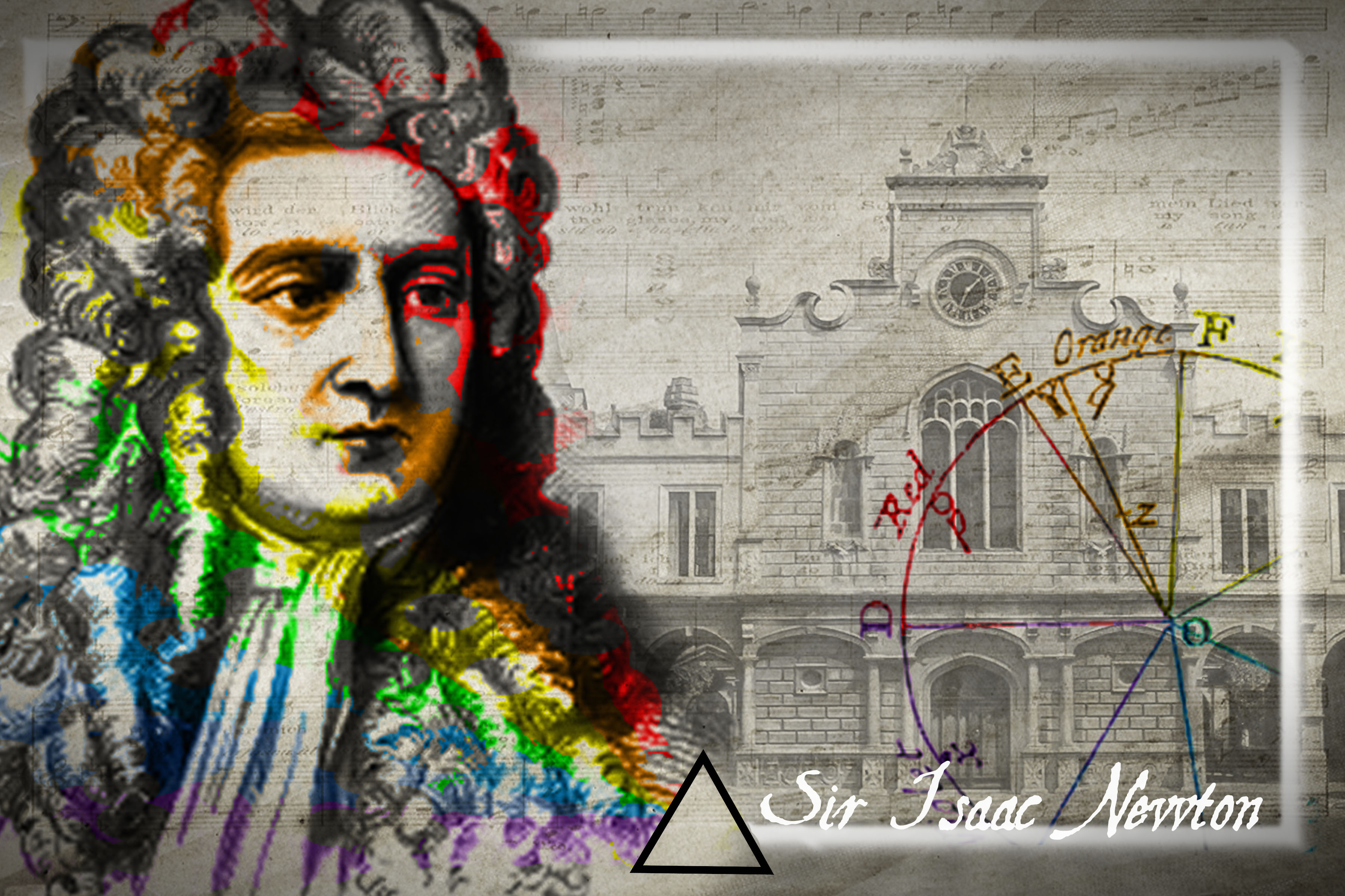 Isaac Newton And Color Theory