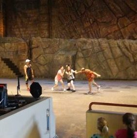 Participating in the Hollywood Studios Indiana Jones Stunt Show