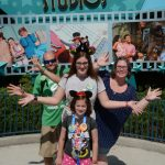 Hollywood Studios pose at the gate