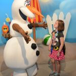 Meet and Greet with Olaf at Disney World