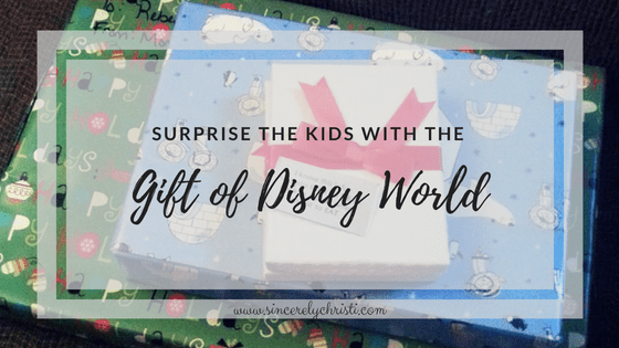 Surprise the Kids With the Gift of Disney World