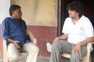 Ashish vidyarthi with manish Gupta IMG_8077
