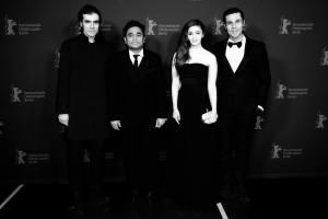 बर्लिन फ़िल्म फेस्टिवल में इम्तियाज़, एआर रहमान, आलिया और रणदीप।
