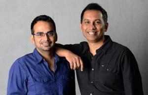 राज और कृष्णा।