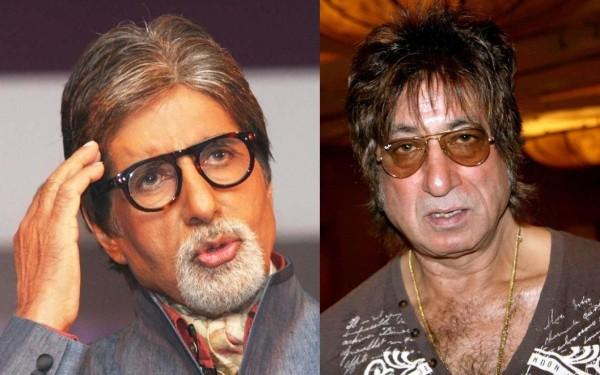 Amitabh Bachchan and Shakti Kapoor