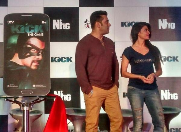 Kick game launch Salman Khan