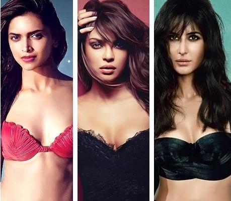 Deepika Katrina Priyanka