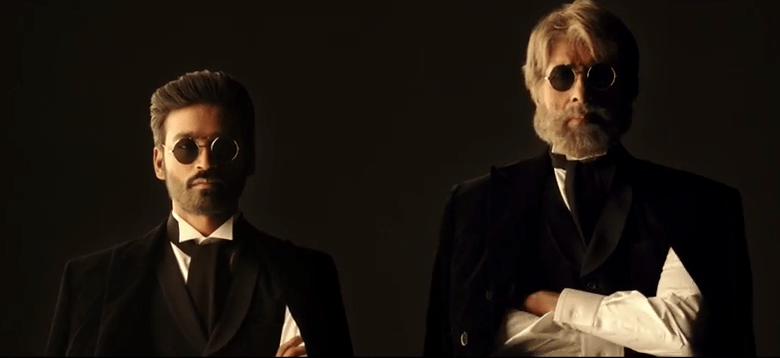 Big B Dhanush Shamitabh