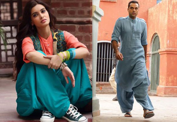 abhay-deol-diana-penty-don-traditiona-avatar-for-happy-bhaag-jayegi-1