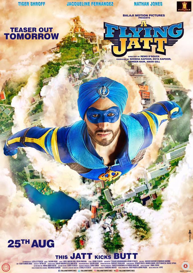 A flying jatt poster