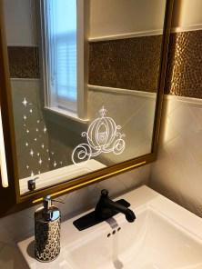 Cute mirror decor inside the Wedding Pavilion