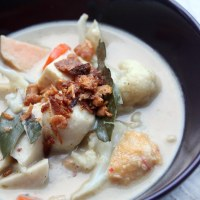 Green Curry (Laksa-Thai fusion style)