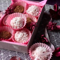 White Chocolate & Cranberry Truffles