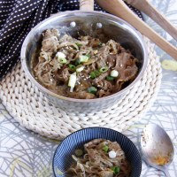 Satay Beef & Rice Vermicelli Stew