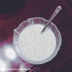 Coconut sago