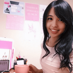Pink Office Nook
