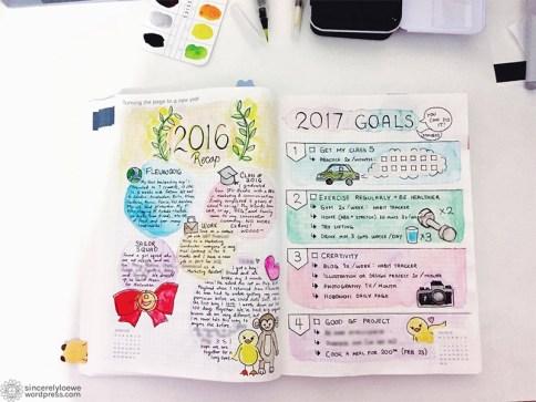 Year recap + New year resolutions.