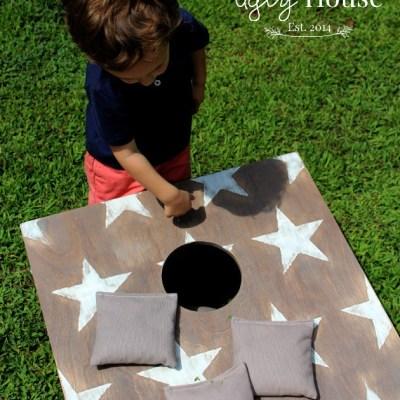 Stars & Stripes Corn Hole Boards
