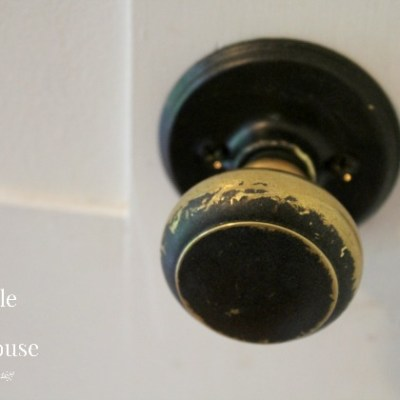 Painted Door Knob Trick-Busted!
