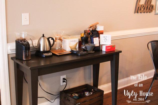 Coffee Bar Build - Sincerely, Marie Designs
