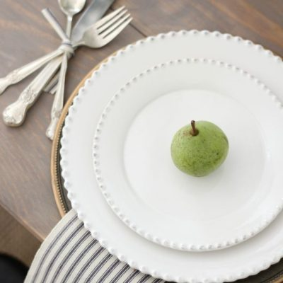 A Simple Late Summer – Early Fall Tablescape