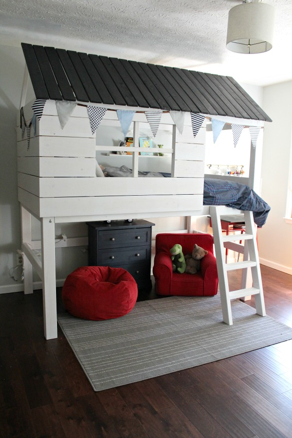Diy Kids Clubhouse Bed Sincerely Marie Designs